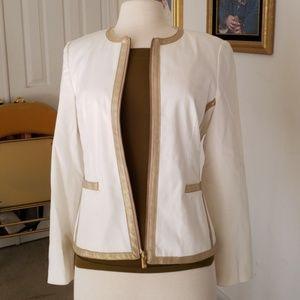 Michael Michael Kors white jacket